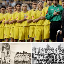 История формы футбольной